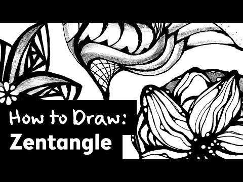 How to Draw Zentangle | Sea Lemon