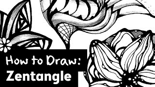 How to Draw Zentangle | Sea Lemon