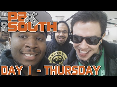 PAX SOUTH VLOG - Day 1 (Thursday)