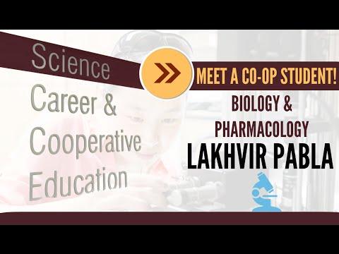 Meet a Co-op Student! | Biology & Pharmacology | Lakhvir Pabla