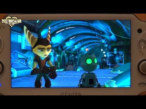 PS Vita - Ratchet and Clank Q Force