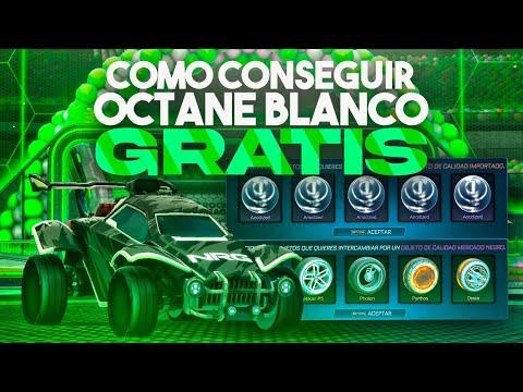 QUEMANDO INVENTARIO 🔥 COMO CONSEGUIR EL OCTANE BLANCO GRATIS #7 ROCKET LEAGUE