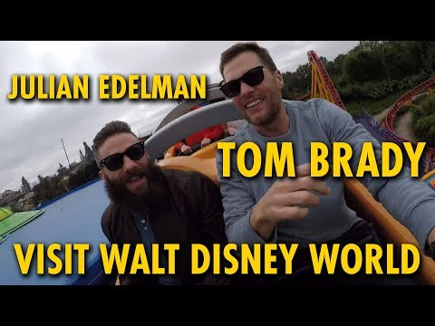 Jason Hurst - Tom Brady & Julian Edelman Enjoy A Day At Disney World