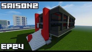 Ville Minecraft S2 |Mairie ultra moderne| #24