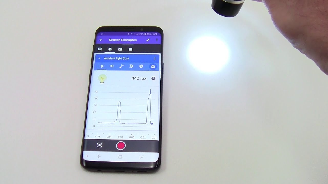 How To Measure Light With Googleu0027s Science Journal App