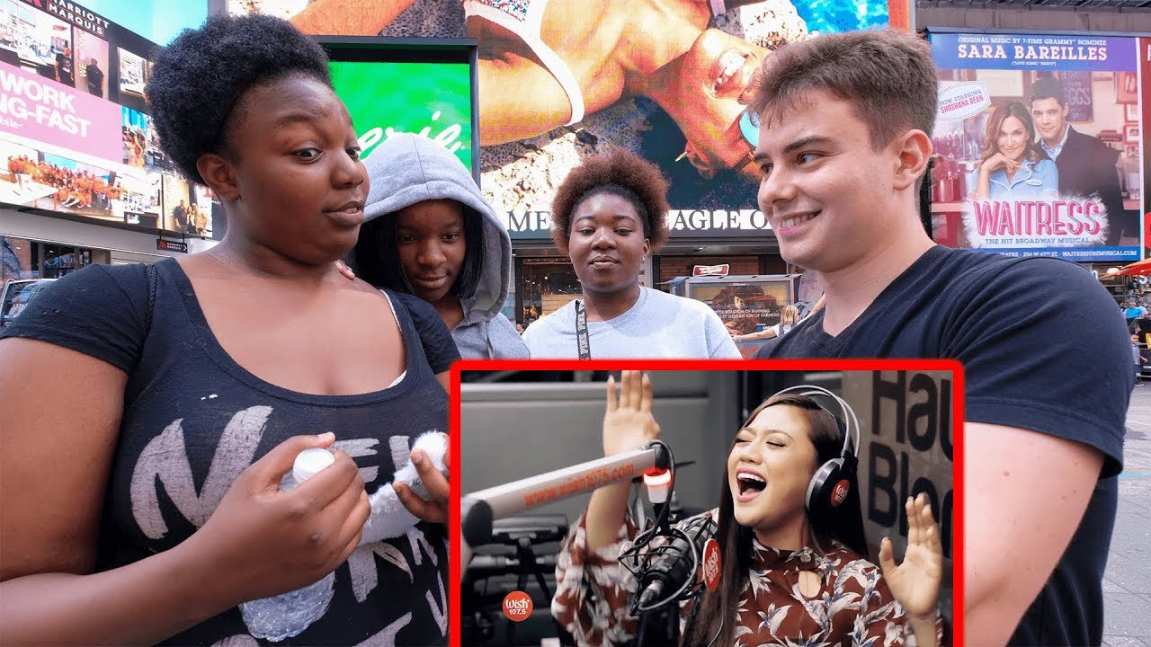 NYC Strangers React to Top Filipino Singers?!