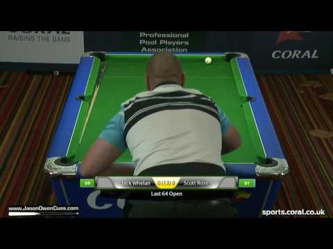 IPA Tour: European Open 2016 Whelan v Ross