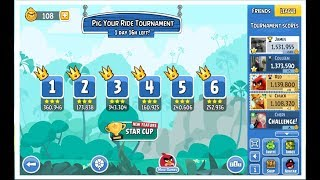 Angry Birds Friends 2018 Weekly Tournament 302a Levels 1-6 on March 1st, 2018 1,531,955pts
