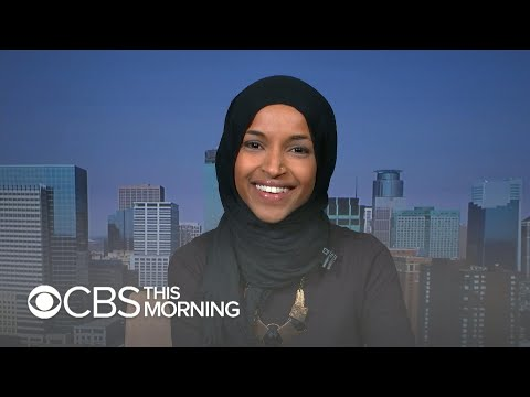 """Minnesota's Ilhan Omar hopes to bring """"unique insight"""" into lives of refugees"""