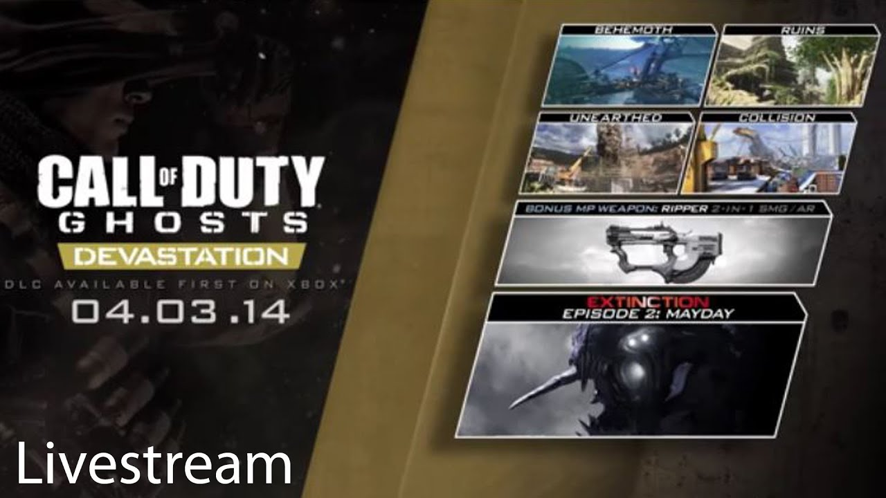 Call of Duty Ghosts Multiplayer Livestream Part 6 ...