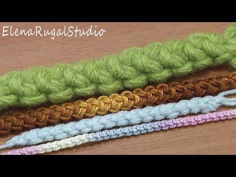 Romanian Point Lace Basic Cord Crochet Tutorial 47