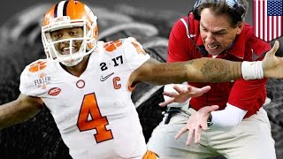 Clemson wins National Championship: Deshaun Watson and the Tigers stun Alabama to win CFP