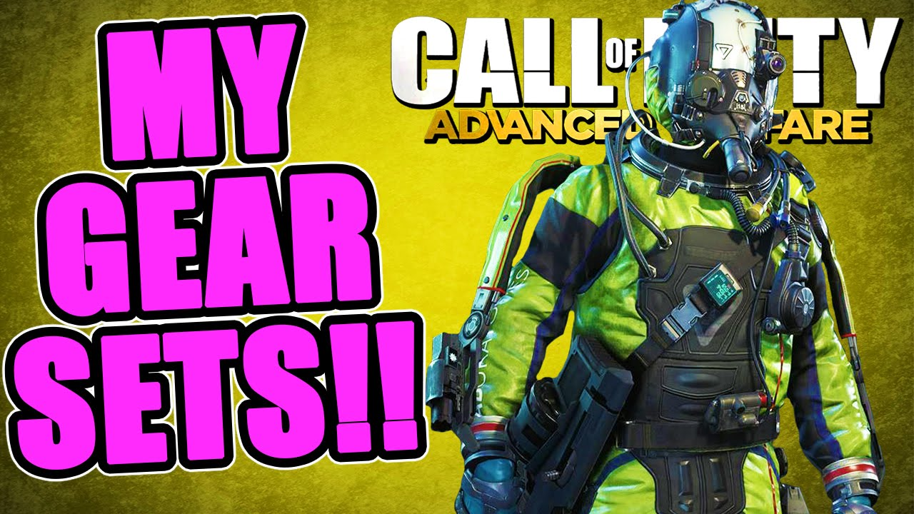 All my complete gear sets quot advanced warfare quot gear loadout showcase