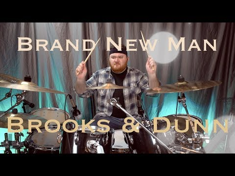 Brand New Man - Brooks & Dunn || Anthony Kiriazes (Drum Cover)
