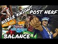 Noble knight post nerf with balance - YU-GI-OH DUEL LINKS!!!