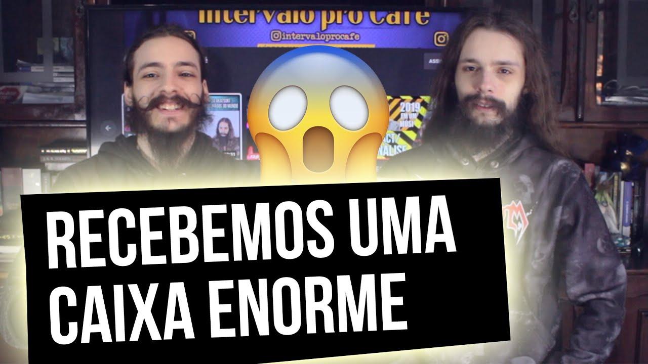 RECEBEMOS UMA CAIXA ENORME! [UNBOXING]
