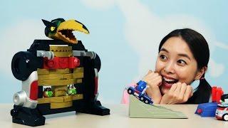[유라] 장난감(toy)_앵그리버드 트랜스포머 젠가 블럭 보드게임 뽀로로 Angry birds transformers Jenga optimus prime attack game