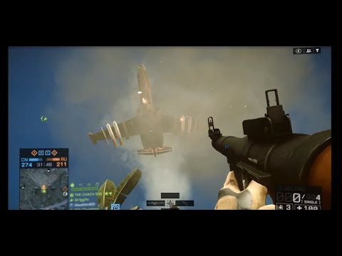 Battlefield 4 - Unbelievable Jet/Helicopter RPG Kills!! - Montage