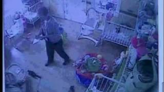 inspector caught on camera at day care center