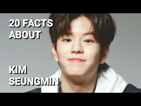 20 Facts about Stray Kids Kim Seungmin