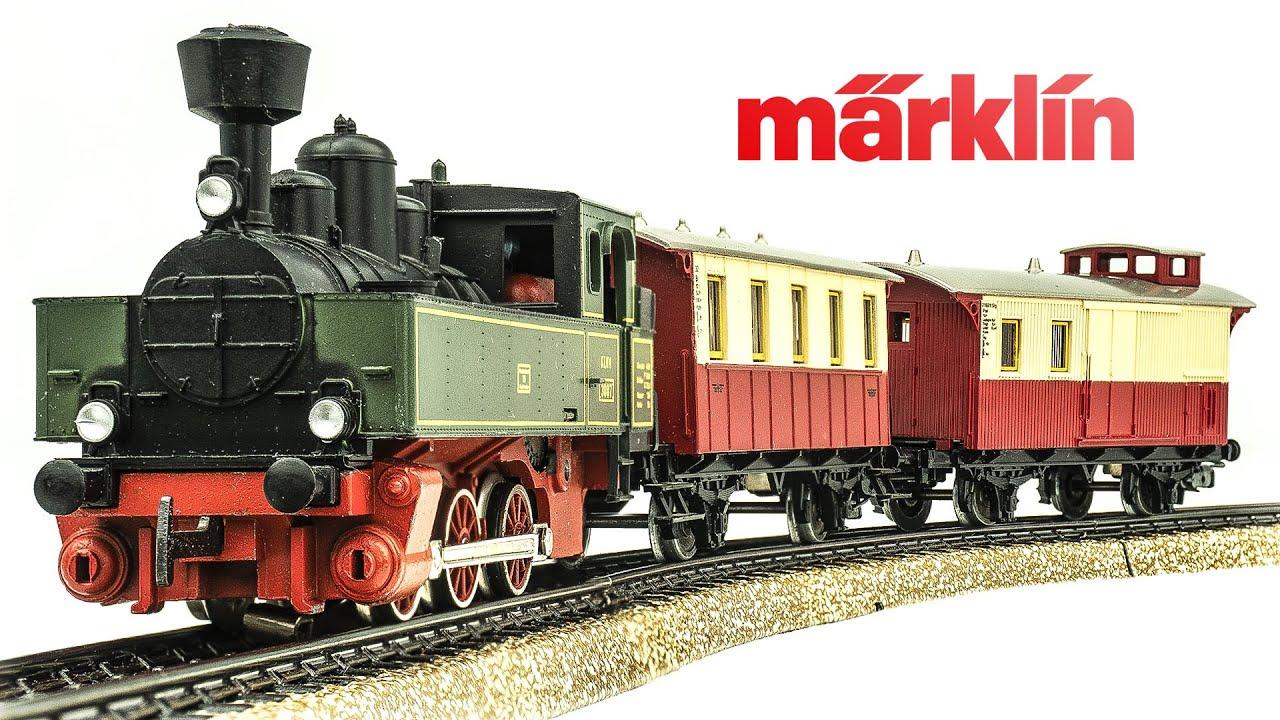 Vintage Marklin HO-Scale 2902 Electric Model Train Set Unboxing & Review