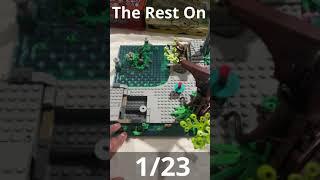 Bag Five Progress in Building Lego Ninjago City Gardens
