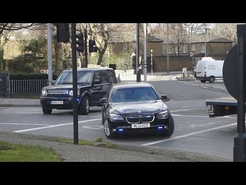 *VERY RARE* Metropolitan Police Specialist Protection [SO1] BMW And Land Rover Responding