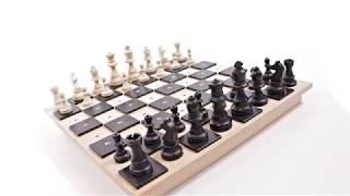 Produktvideo zu Klassisches Brettspiel Schach für Blinde