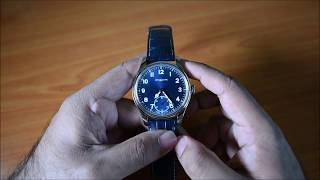 Montblanc 1858 Manual Small Second watch review