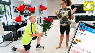 I ASKED TIANA TO BE MY GIRLFRIEND PRANK!!