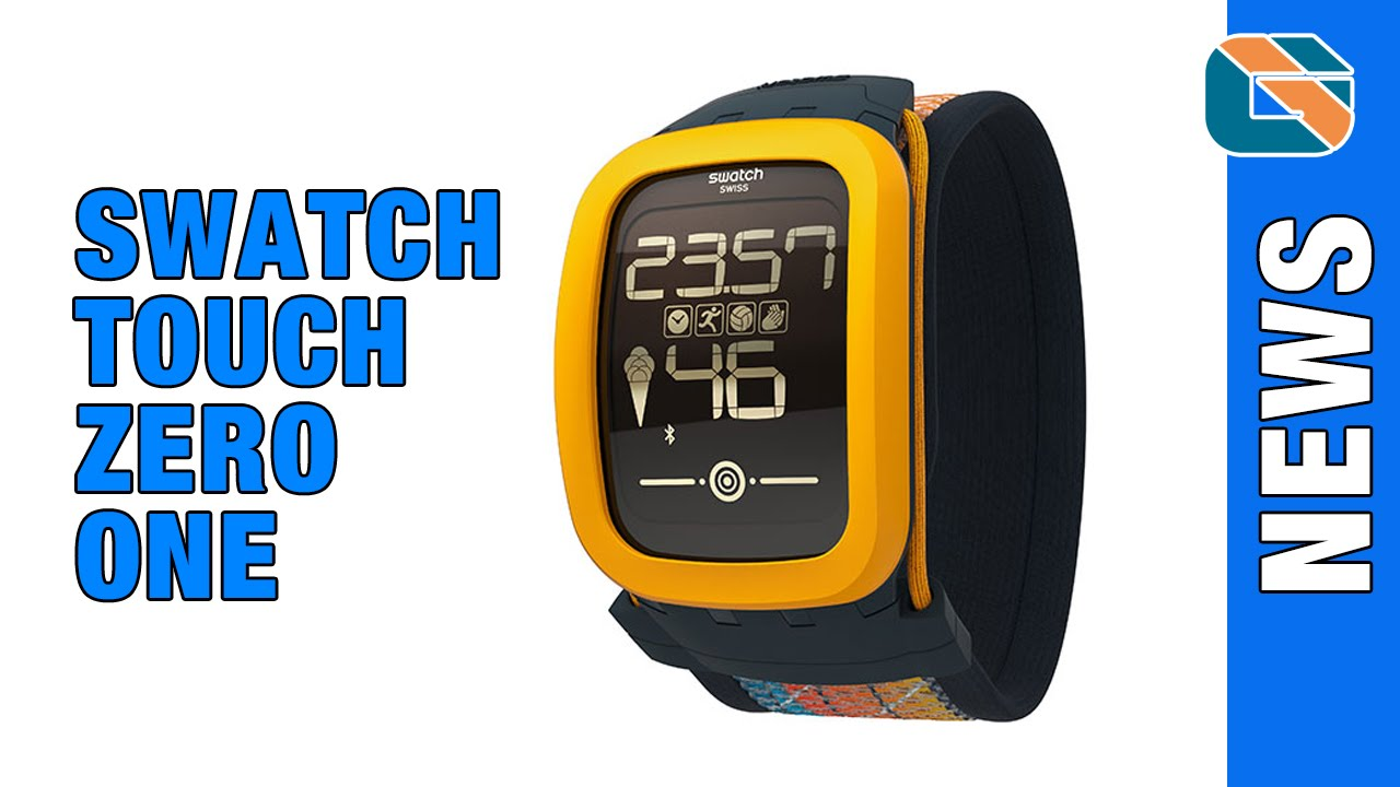 2180081d2b7 Swatch Touch Zero One Smartwatch Announced  Swatch - YouTube