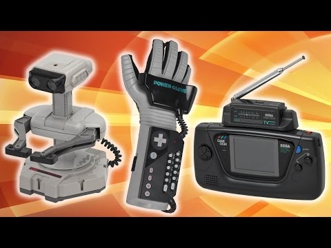 Top 5 WORST Video Game Accessories of All-Time!