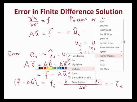 MIT Numerical Methods for PDE Lecture 2: Solution Error Analysis