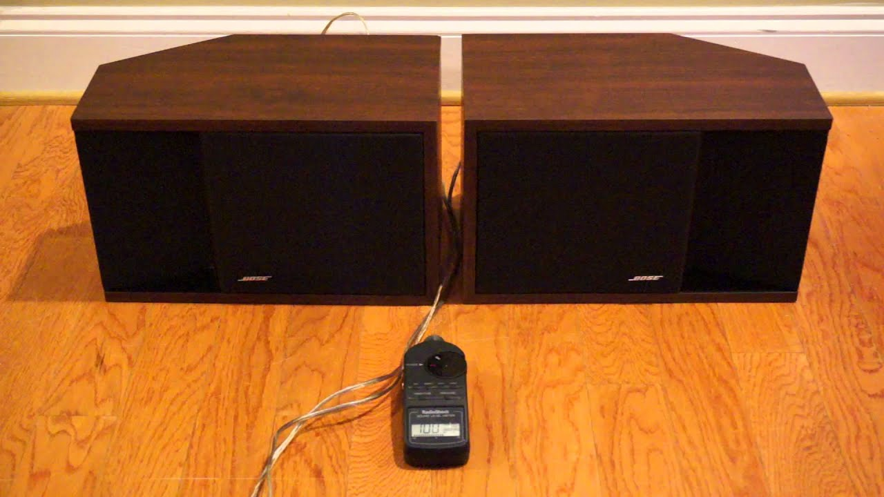 Bose 201 Series II Demo - YouTube