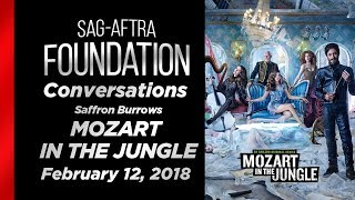 Conversations with Saffron Burrows of MOZART IN THE JUNGLE