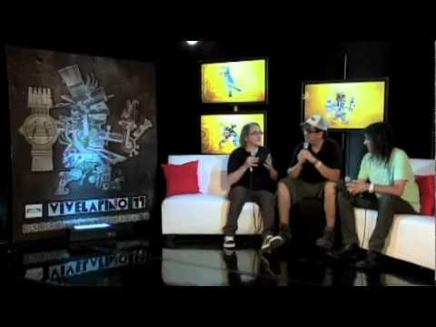 Vive Latino 2011 - Entrevista a Los Enanitos Verdes