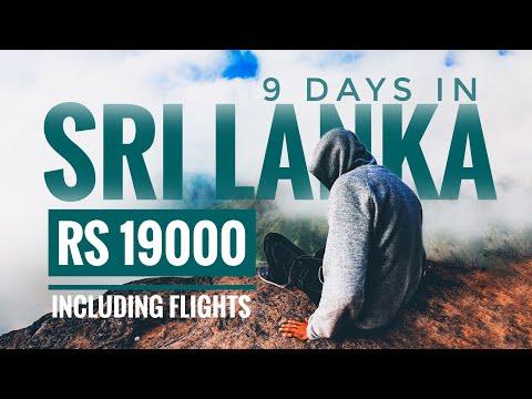 9 Days Sri Lanka for 19000 | Visa, Flights, Stay, Food, Sim, Bus, Train | Sri Lanka Travel Guide