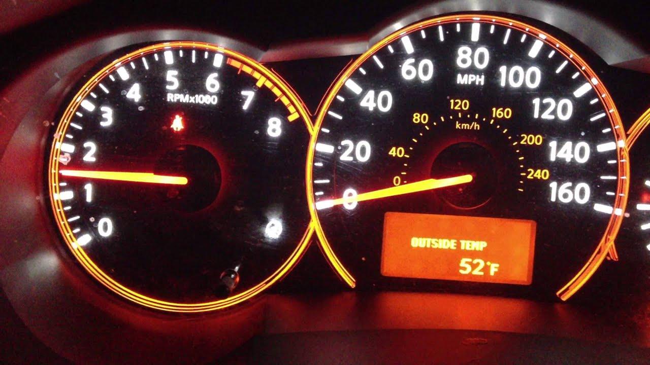 Tachometer Going Crazy