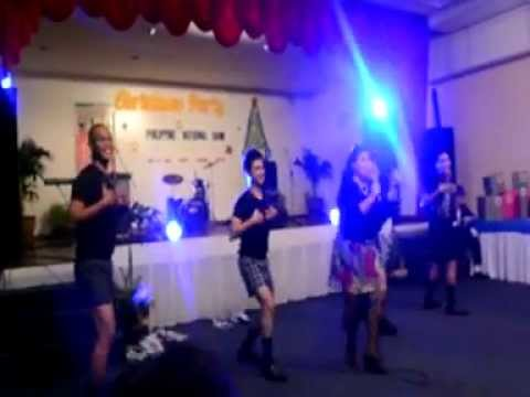 PNB Cebu-Bohol Xmas PArty (RCFC Performance)