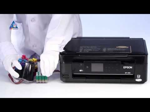 CISS Installation on Epson Expression Home XP-400