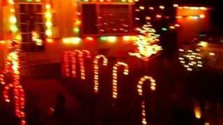 My house during Christmas Season