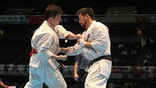THE 45TH ALL JAPAN OPEN KARATE TOURNAMENT men 2nd round Naoki Umeda...