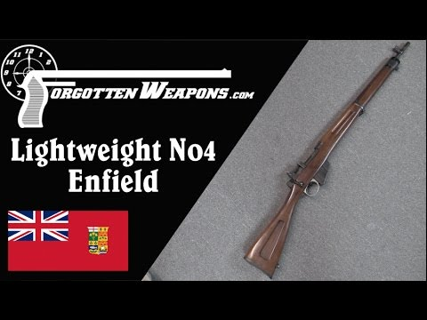 Canadian Experimental Lightweight No4 Enfield