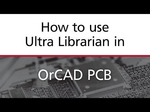 OrCAD PCB Footprint and 3D Model Generation