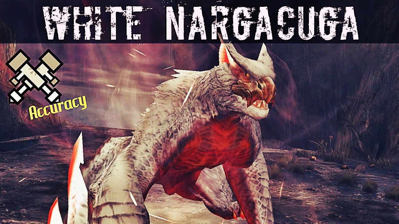 Monster Hunter Frontier Z White Nargacuga Gameplay Challenge