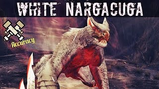 「Monster Hunter Frontier Z」 White Nargacuga Gameplay [Challenge] | [MHF-Z] Quest Hardcore