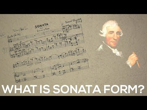 What is Sonata Form? | Learn the structure of sonata form | music theory video