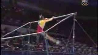 Yang Yun - 2000 Olympics Team Finals - Uneven Bars