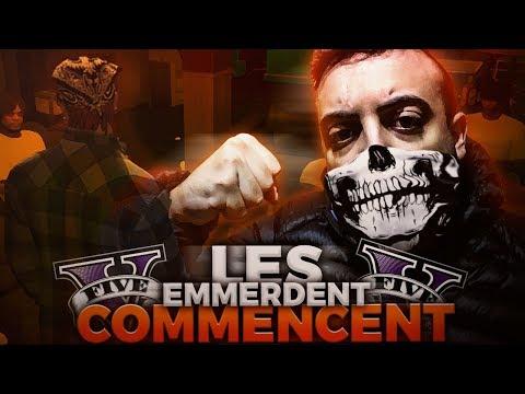 GTA V RP#2 - LES EMMERDES COMMENCENT..