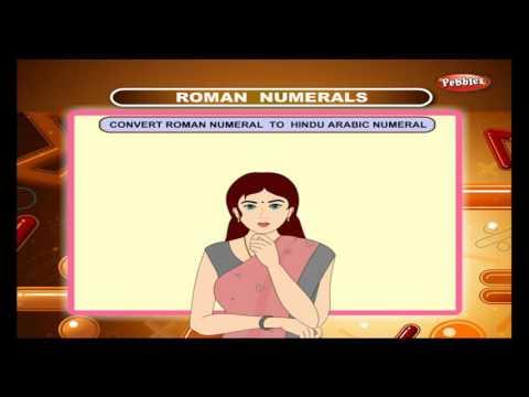 Cbse 4th CBSE Maths | Roman Numerals | NCERT | CBSE Syllabus | Animated Video